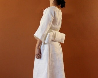 Alternative eco wedding dress made to measure listing