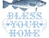 Cod Bless Your Home greeting cod