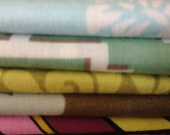 RESERVED FOR KAYLA Fat Quarter Pack Stash Builder, five fat quarters