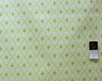 Dena Designs PWDF118 London Wakefield Pink Cotton Fabric 1 Yard