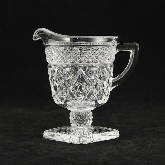 Items Similar To Cape Cod Imperial Glass Creamer Fancy