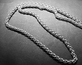 Sterling silver SPIGA Necklace chain 4mm 15 inch to 20 inch