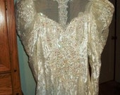Beautiful Gown, Size 10 vintage gown.