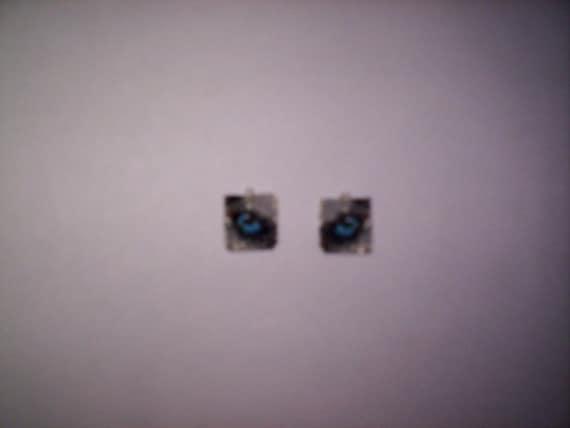 Brick Stitch Husky Eyes Delica Seed Beading PDF E-File Dangle Earring Pattern-163