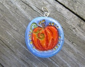 Fall Impressions Pendant - Pretty Pumpkin