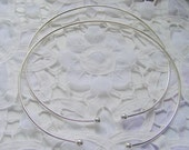 2 Wire Choker Necklaces With Screw Off End