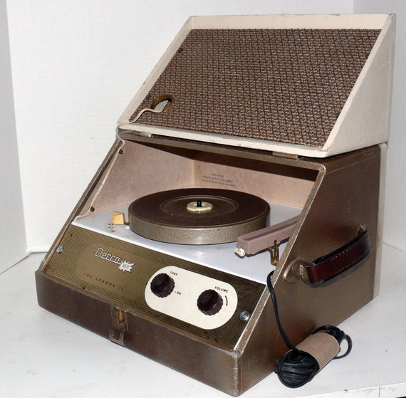 Decca Stereo  Record Player Refurbished With Warranty