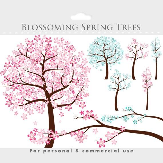 flowering tree clipart - photo #24