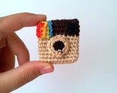Instagram Pin ig Icon Brooch