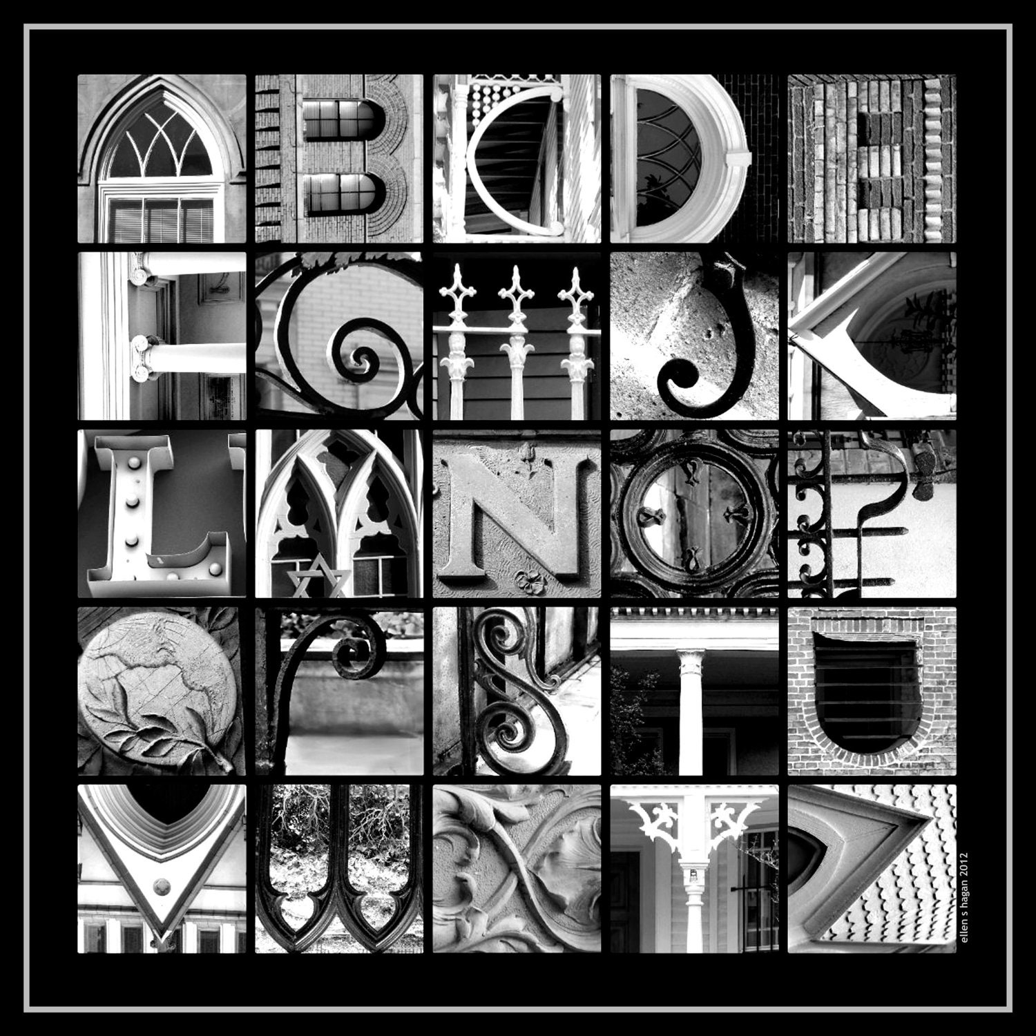 Items similar to alphabet photography 12x12 gloss print b for Architectural letter photos