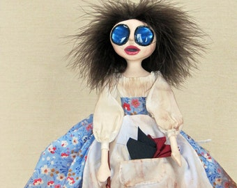 Cinderella Ashiepattle - Gothic Fairytale Art Doll