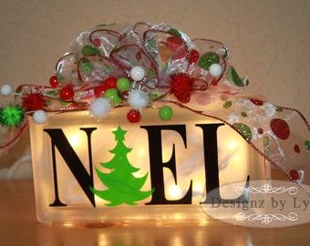 NOEL Decorative Glass BLock