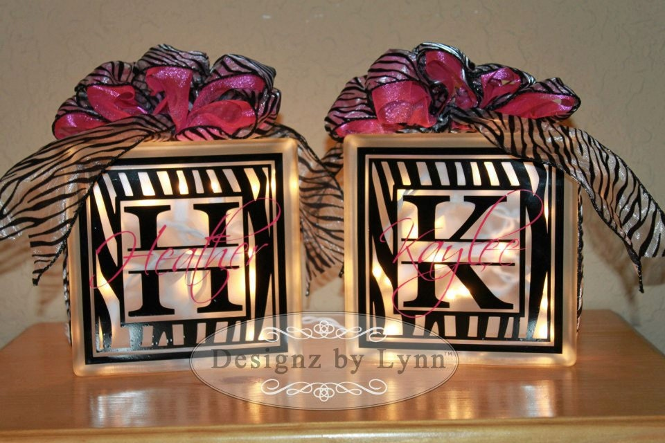 craft ideas for glass blocks personalized decorative glass block 6176