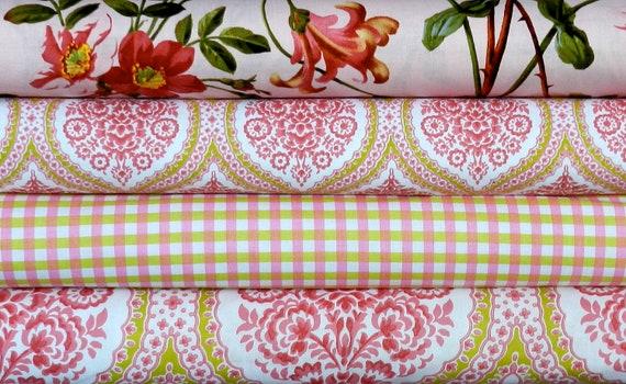 Bonnes Amies Collection for Michael Miller Fabrics - half yard bundle - 2 yards (1.8m) total
