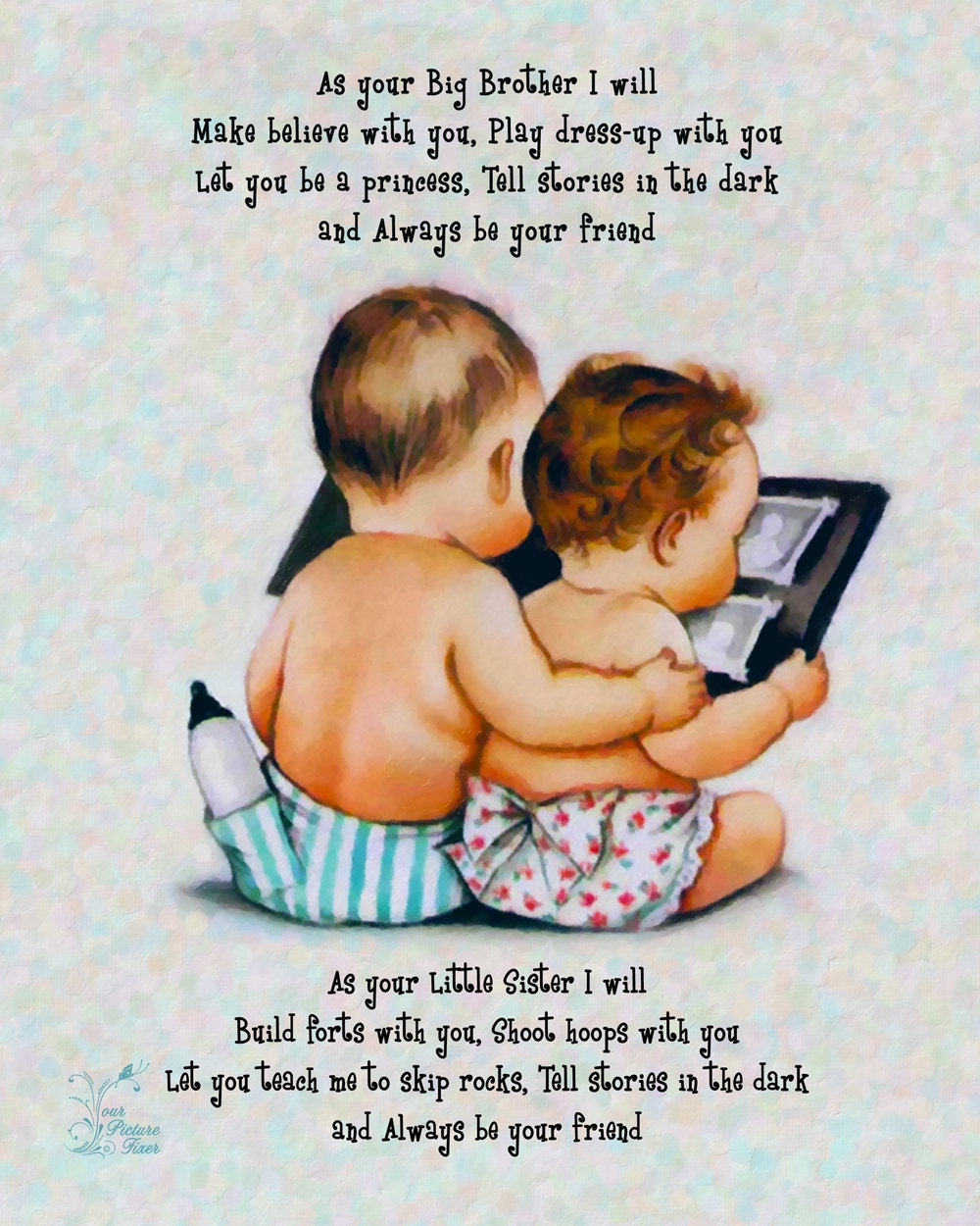 Baby Brother Poems Brother And Sister Poem