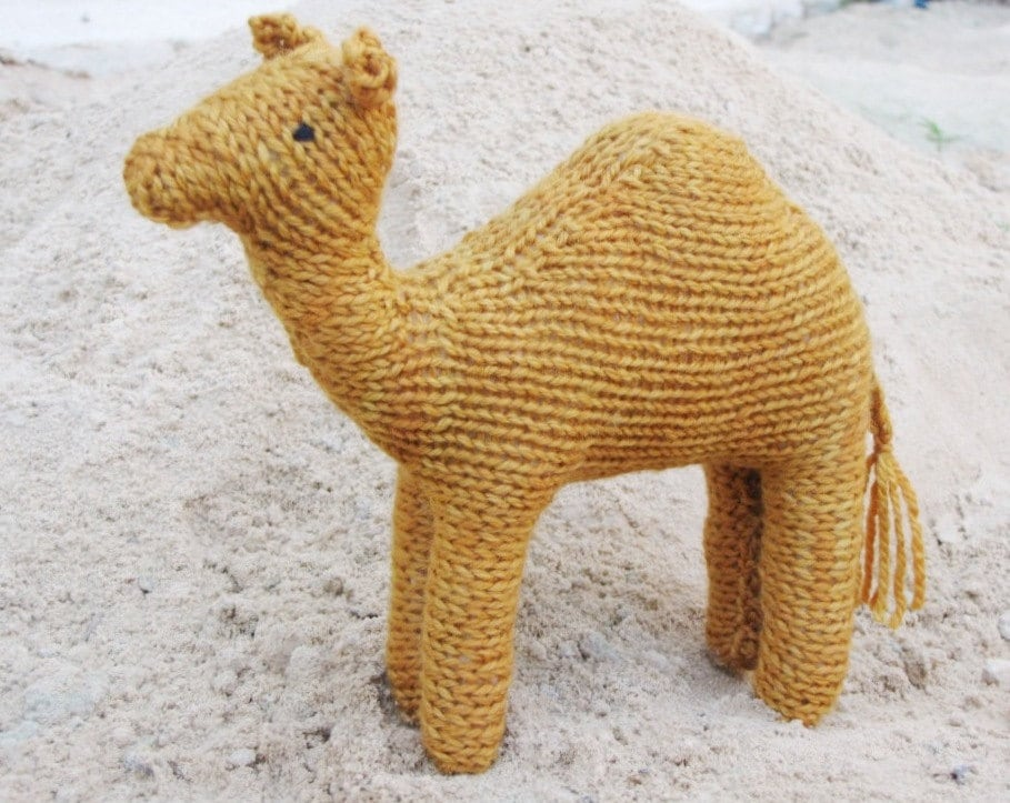 Humphrey the Camel Pattern PDF Waldorf Instant Digital