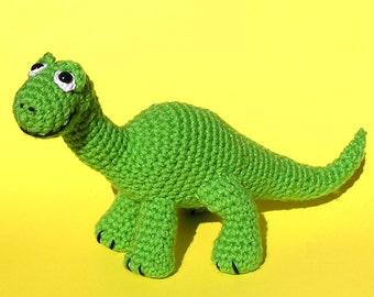 PDF Crochet pattern BABY BRONTOSAURUS
