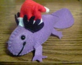 Custom Felt Axolotl Plush- Reserved for merwen