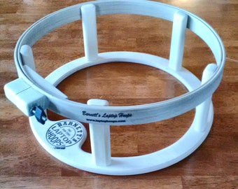 Barnett's 16 inch Laptop Hoop Frame Ultra Light Weight Great for Hand Quilting Embroidery Cross Stitch or Needlepoint