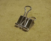 1 inch-modified- Sterling silver binder clip