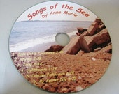 Original Music CD - Songs of the Sea - Nautical Lyrics - Seaglass Song