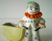 Vintage Clown Planter