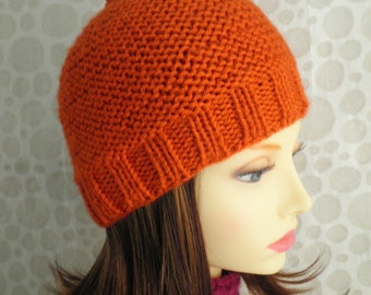Beanie Knitting Pattern Straight Needles : Popular items for romeoromeo on Etsy