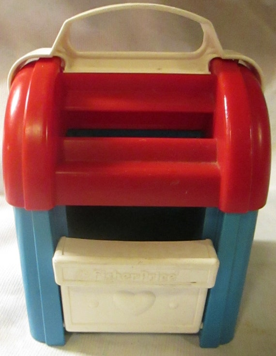 1989 Fisher Price Post Office Mailbox