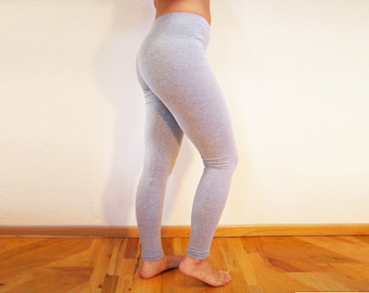 Cotton Lycra Stretch Leggings, Black, Grey, Brown - for Women and Men- Best Selling