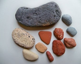 GREAT LAKES BRICK Tumbled Stones/Brick Stones Mix