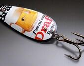 Frosty Mug of Premium Draft Meister Brau Fishing Lure Original Recyclure Large