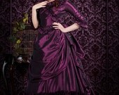Mina Interview with the Vampire Gothic Victorian Bustle Custom Colors/Size