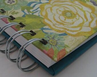 Envelope System Wallet/ Envelope Budget/ Cash Envelope Wallet/ Envelope System/ Budget Wallet/ Cash Budget Envelope/ Floral Turquoise