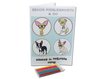 Dog Colour In Book With Activities Special Edition