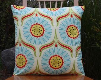 Pop Garden Pop Daisey Red Pillow Cover