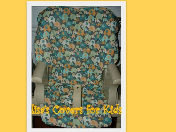 Replacement High Chair Cover Reversible Universal Size