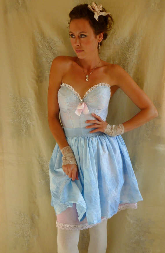 Custom Cloudy Bustier Dress for Erica... Final Payment