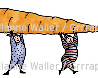 People with Food:  Carrot Vegetable clipart