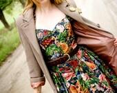 SALE: Vintage long wool jacket