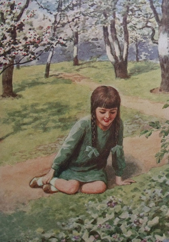 The Lavender Garden - 1929 - Nora Mary Edmondson - Introduction by Beatrix Potter - First edition