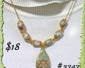 Lovely Polymer Clay Necklace    3747