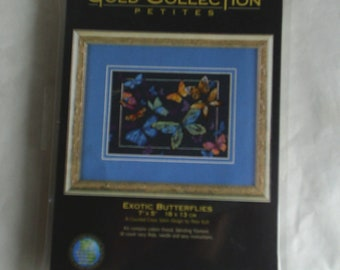 Exotic Butterflies kit Dimensions Gold Collection kit
