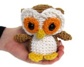 Amigurumi PATTERN: Crochet Owl -pdf-