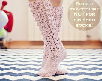 Crochet PATTERN for socks  - GiGi Socks