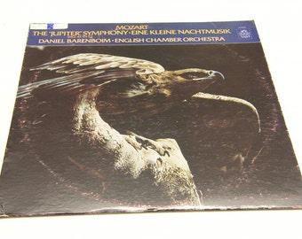 """Mozart: Symphony No. 41 """"Jupiter"""" Eine kleine Nachtmusik, Daniel Barenboim English Chamber Orchestra"""