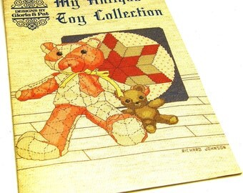 My Antique Toy Collection - Counted Cross Stitch Designs by Gloria & Pat from painting by Richard Johnson