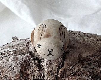 Beach Pottery Rabbit