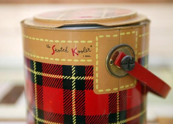 Skotch Plaid cooler