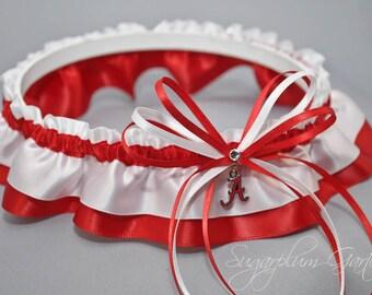 University of Alabama Crimson Tide Wedding Garter