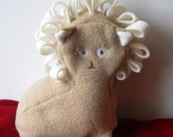 Curly Lion Plush Toy